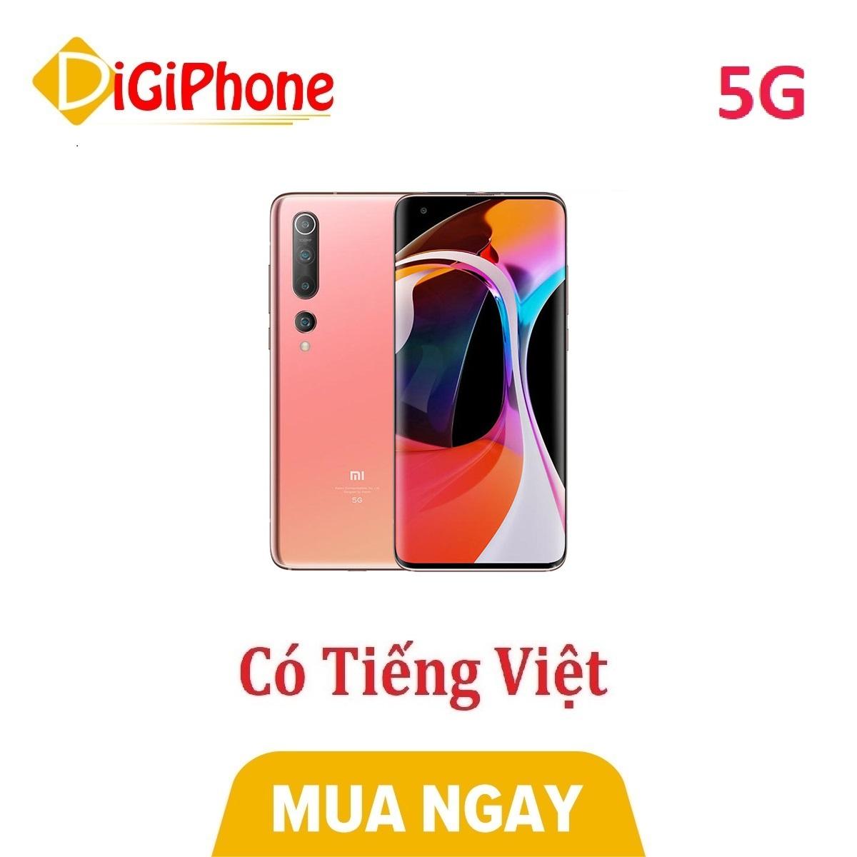 Điện thoại Xiaomi Mi 10 5G Ram 8Gb - Hàng nhập khẩu