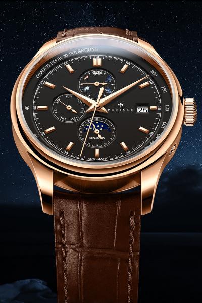 Đồng hồ nam chính hãng Poniger P8.15-2