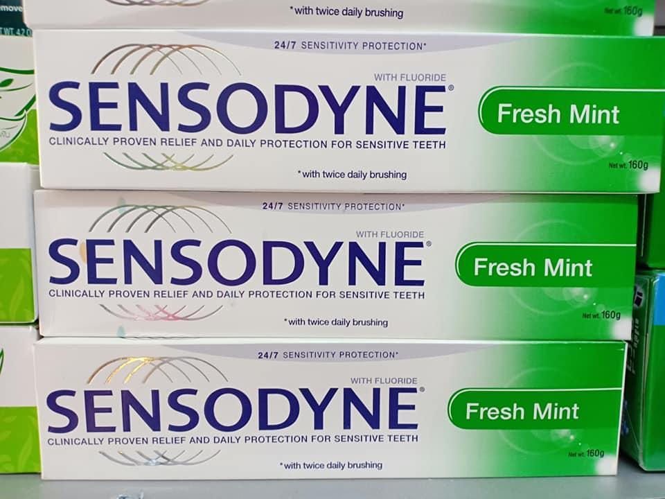 Kem đánh răng Sensodyne® Fresh Mint 160gr
