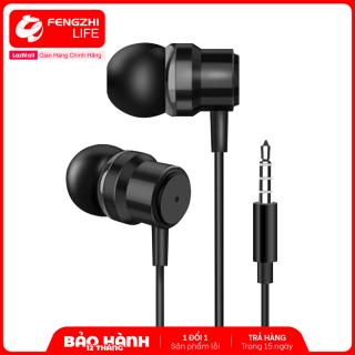 Tai nghe JUYUPU K3L nhét tai chống ồn jack 3.5mm cao cấp chính hãng dành cho iPhone Samsung OPPO VIVO HUAWEI XIAOMI tai nghe có dây thumbnail
