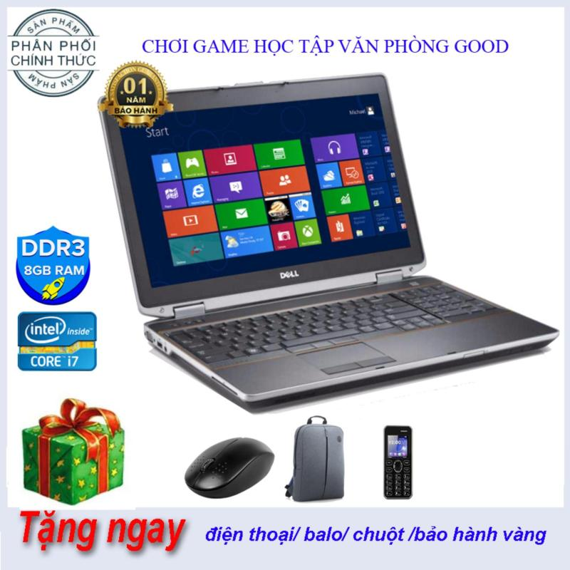 Dell  E6520 i7 15.6 inch  Ram 8 GB SSD 240gb hàng nhập khẩu mỹ nguyên zin  keng full box good 100% bảo hành 12 tháng