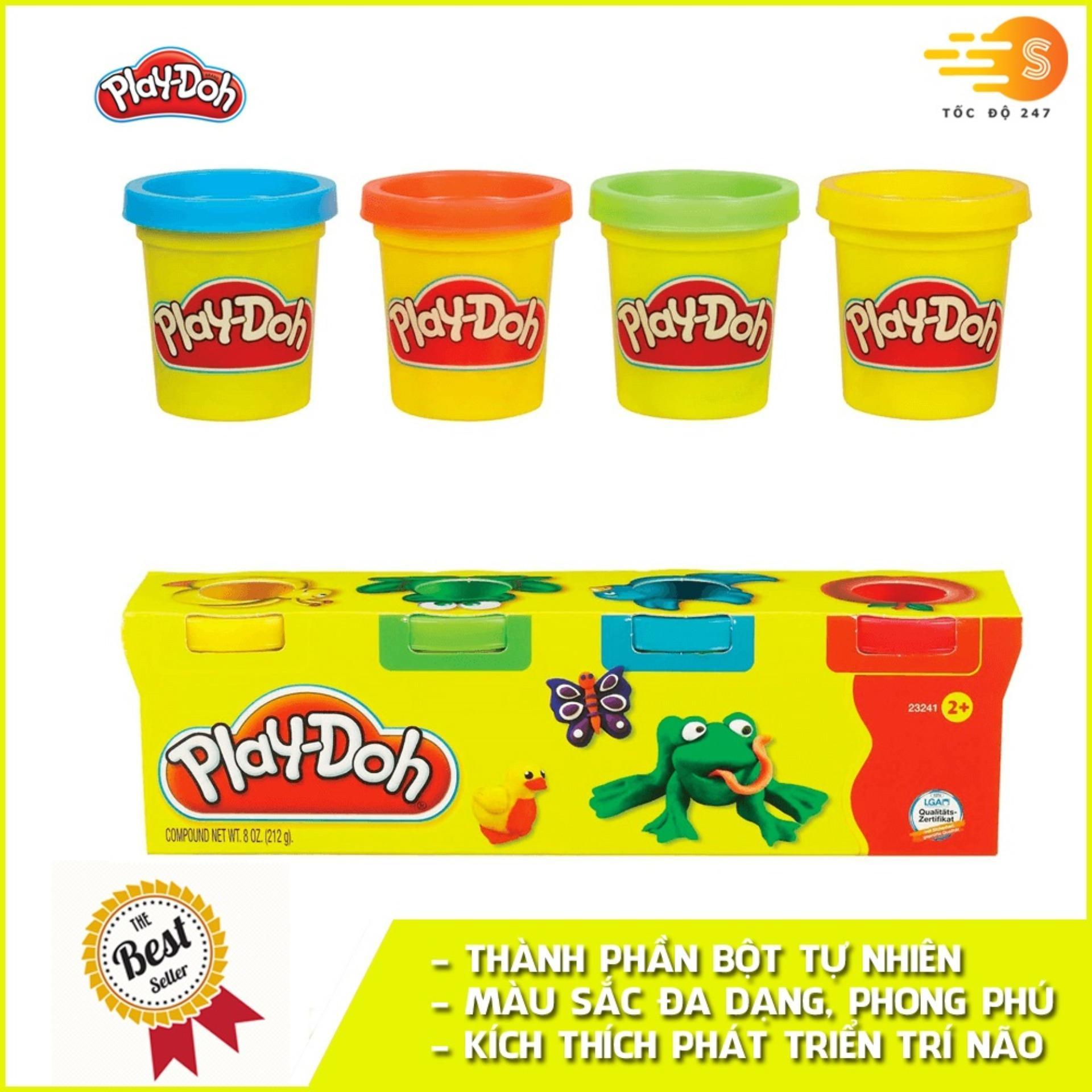 Bộ Bột Nặn Tạo Hình 4 Màu Mini Play-Doh 23241 Giảm Cực Đã