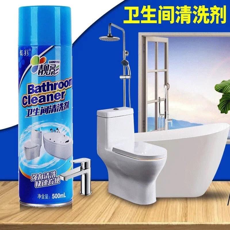 Chai Xịt Tẩy Rửa Vệ Sinh Nhà Tắm Bathroom Cleaner 500ML Siêu Sạch Khuyến Mãi Sốc