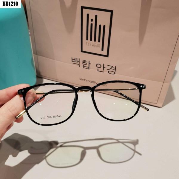 Giá bán [Lấy mã giảm thêm 30%]Kính Cận Nam Nữ BBR1210 -Gọng Kính Mắt Vuông- Gọng Kính Cận Đẹp-Gọng Kính Cận Unisex-Gọng Kính Thời Trang-Lily Eyewear