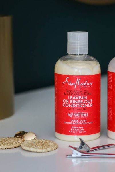 Shea Moisture - Dầu Xả Shea Moisture Red Palm Oil & Cocoa Butter Leave-In or Rinse-Out Conditioner 237ml