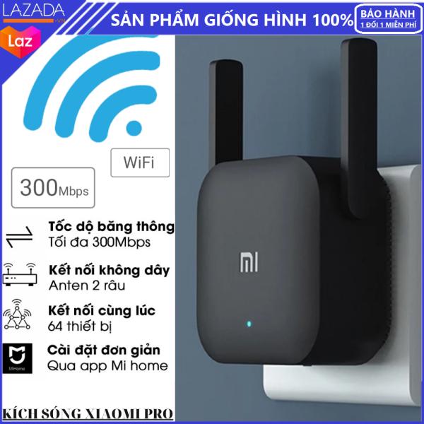 Bảng giá [Bảo Hành 1 Năm Chính Hãng] Kích sóng Wifi Xiaomi Repeater Pro - Thiết Bị Mở Rộng WiFi Xiaomi Mi Wifi Repeater Pro 300Mbps ,Chuẩn Wifi: IEEE 802.11b/g/n, 2 Râu WiFi 2*2 DBI Antenna 2.4GHZ Giúp Tăng Khả Năng Phát Sóng Xuyên Tường Phong Vũ