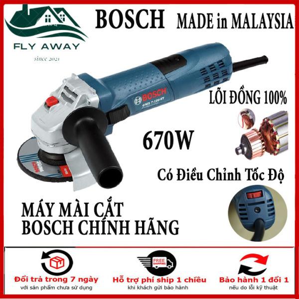 MẪU MỚI 2021] Máy mài điện B0SCH GSB 6-100 - máy cắt cầm tay công suất 670W - đánh bóng - chà nhám mọi bề mặt - cưa cây - cắt cành - cắt gỗ-sắt . Đặc biệt có điiều chỉnh tốc độ nhanh chậm, tùy thích.