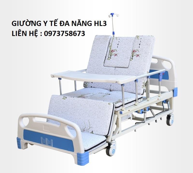Giường y tế đa năng 4 tay quay HL3 - Giường đa năng