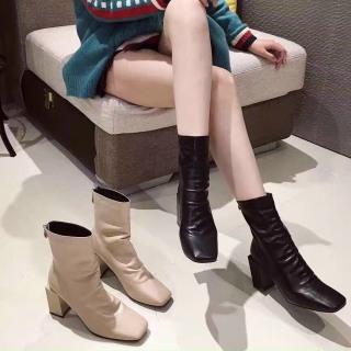 [SẴN -LOẠI 1] Bốt nữ CooBan Boots da nhăn siêu êm cao cấp chất đẹp cá tính thumbnail