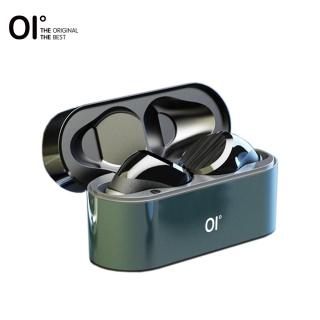 OI Teno-Ba Tai nghe không dây Bluetooth 5.0 vỏ sạc kim loại 7h phát lại điều khiên âm lượng cảm ứng khử tiếng ồn - INTL thumbnail