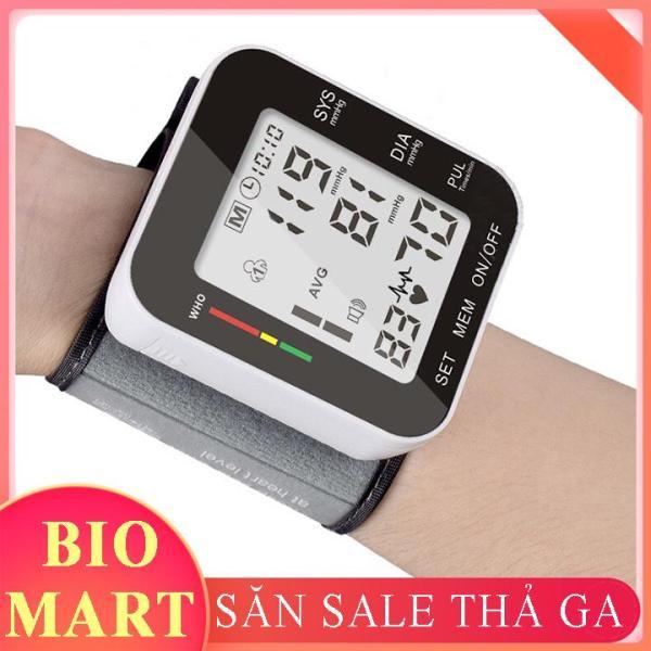 Máy đo huyết áp cổ tay cảm ứng - Máy đo huyết áp điện tử - BIO56 bán chạy
