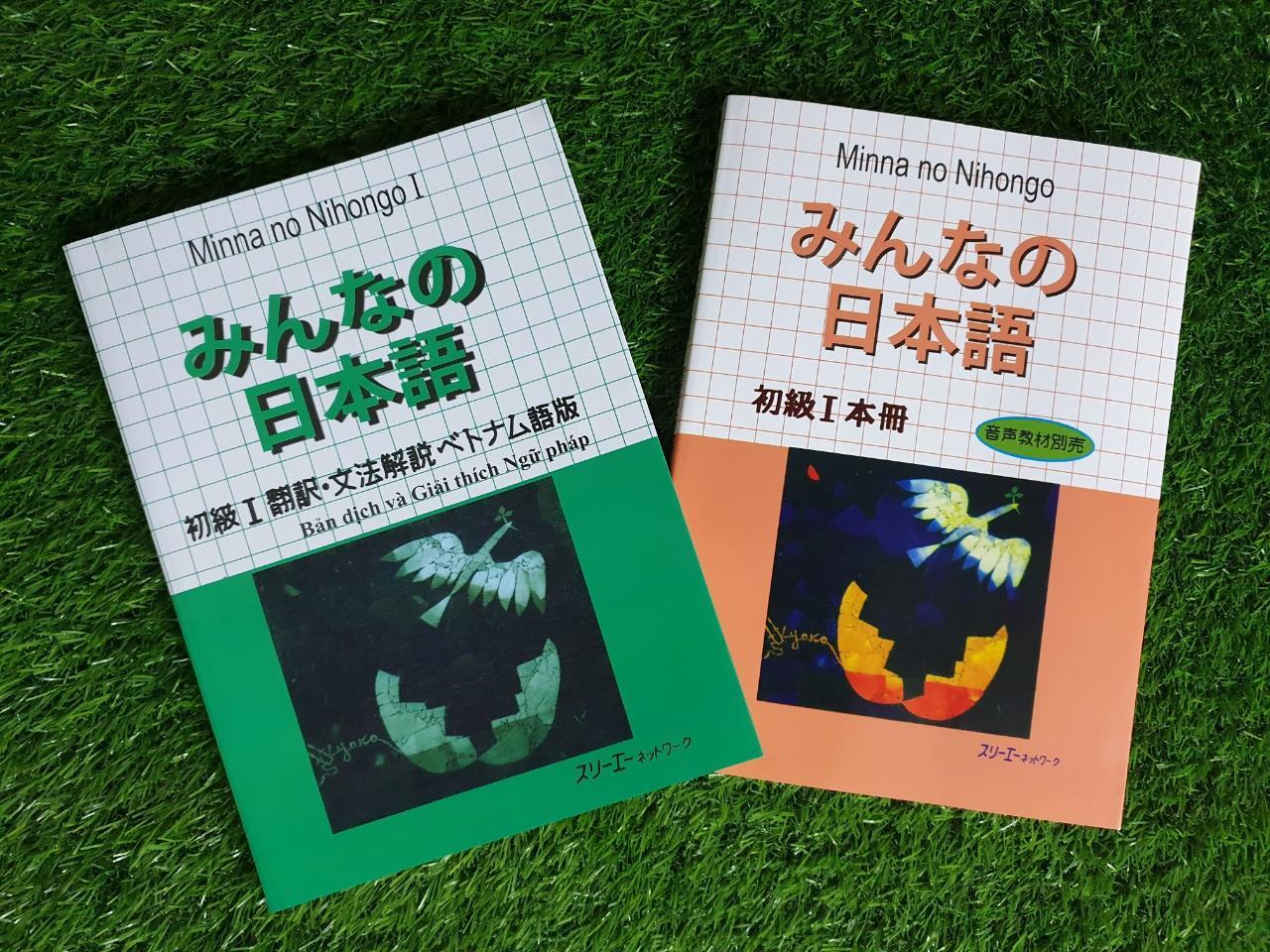 Combo 2 Cuốn Minna No Nihongo Sơ Cấp 1 (giáo Trình + Bản Dịch) Với Giá Sốc