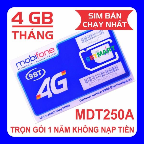 Sim 4G MobifoneTrọn Gói 1 Năm Không Nạp Tiền