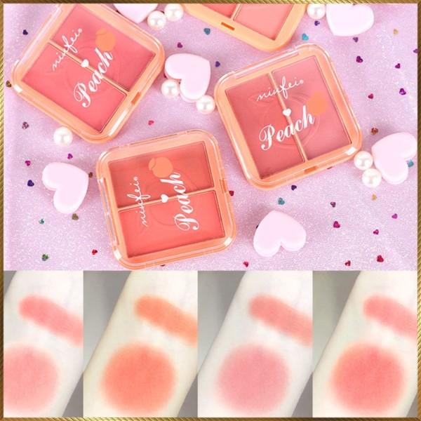 Phấn má hồng 2 ngăn Minfei Peach hàng Nội Địa Trung MFP4 giá rẻ