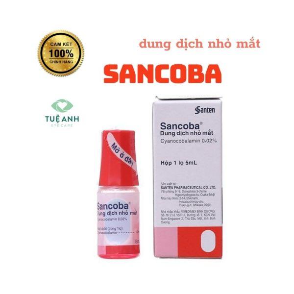 Dung Dịch Nhỏ Mắt Sancoba 5ml Nhật Bản – Giảm Mỏi Mắt Tăng Cường Thị Lực [Tuệ Anh] giá rẻ