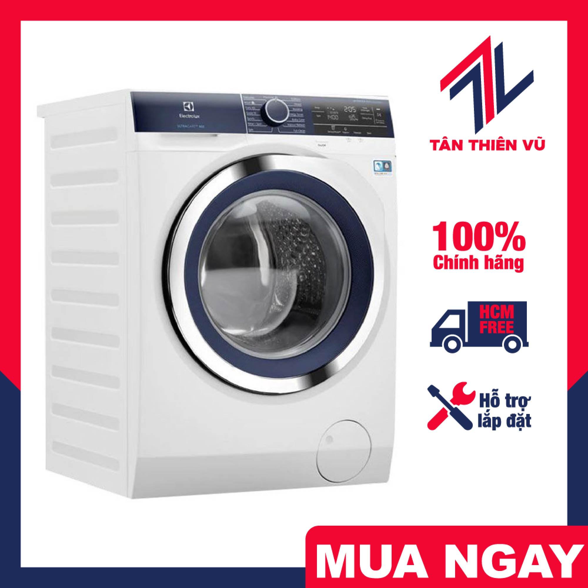Trả góp 0% - Máy giặt Electrolux EWF9023BDWA 9.0kg inverter, 100% chính hãng, hỗ trợ lắp đặt tận nhà, miễn phí giao hàng khu vực HCM - Miễn phí vận chuyển HCM
