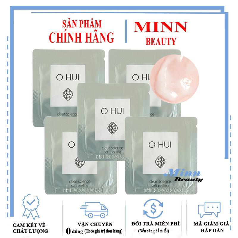 Combo 5 Tẩy Tế Bào Chết Ohui Clear Science Soft Peeling 1mlx5 tốt nhất