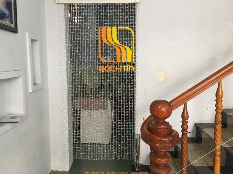 Mành hạt nhựa chuỗi pha lê Bách Tín, rèm cửa trang trí decor,vách ngăn tường