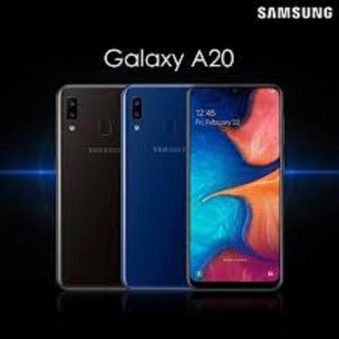 điên thoại CHÍNH HÃNG Samsung Galaxy A20 2sim (3GB/32GB), Chiên Game PUBG/LIÊN QUÂN mượt - BẢO HÀNH 12 THÁNG