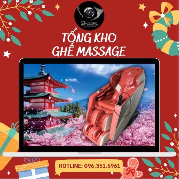 [ĐIỀU KHIỂN BẰNG GIỌNG NÓI TIẾNG VIỆT] Ghế massage FUJIKIMA FJ-B779 với hệ thống liên động tự động, massage toàn thân, thời thượng, quý phái, trị liệu Nhật Bản