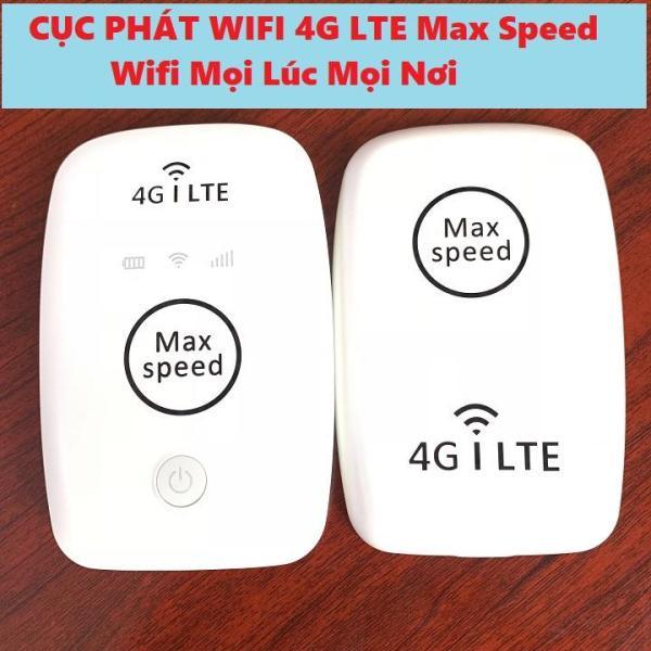 Bảng giá Wifi di động gắn sim 3G 4G Phát wifi- Cục wifi Max Speed 4G LTE Made In Japan siêu truy cập, siêu wifi Phong Vũ