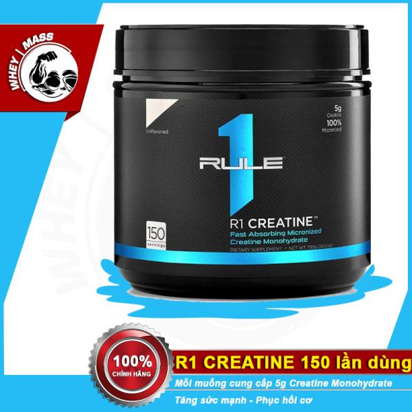 Tăng sức mạnh và kích thước ,độ phồng cơ bắp Rule 1 Creatine Unflavored 150 lần dùng, hàng chính hãng TỪ MỸ giá rẻ