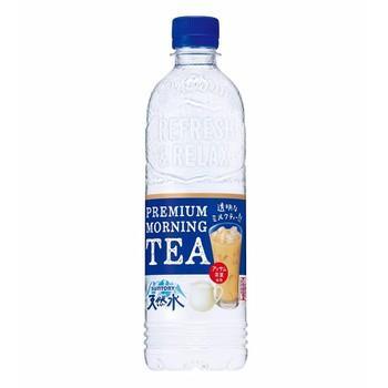 Nước Khoáng SUNTORY Vị Trà Sữa Premium Morning 550ml - Hàng Nhật Nội Địa
