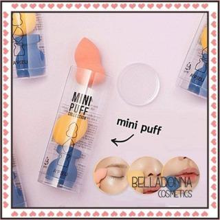 [Phiên bản mini] Set 3 bông mút đánh kem A pieu Mini Puff Collection thumbnail