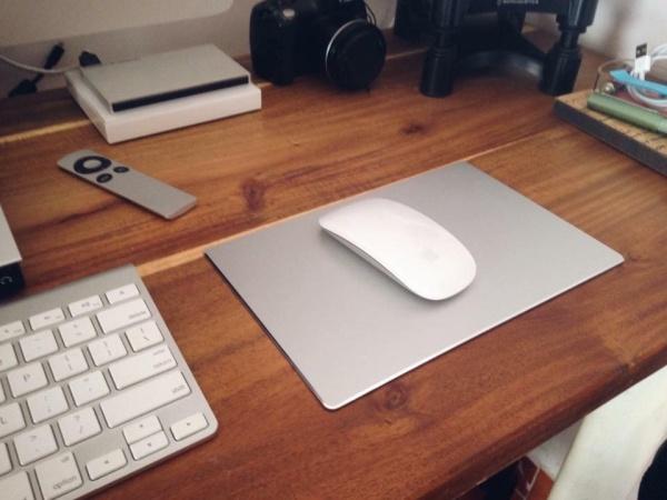 Giá Bàn di chuột Nhôm nguyên khối - Mousepad