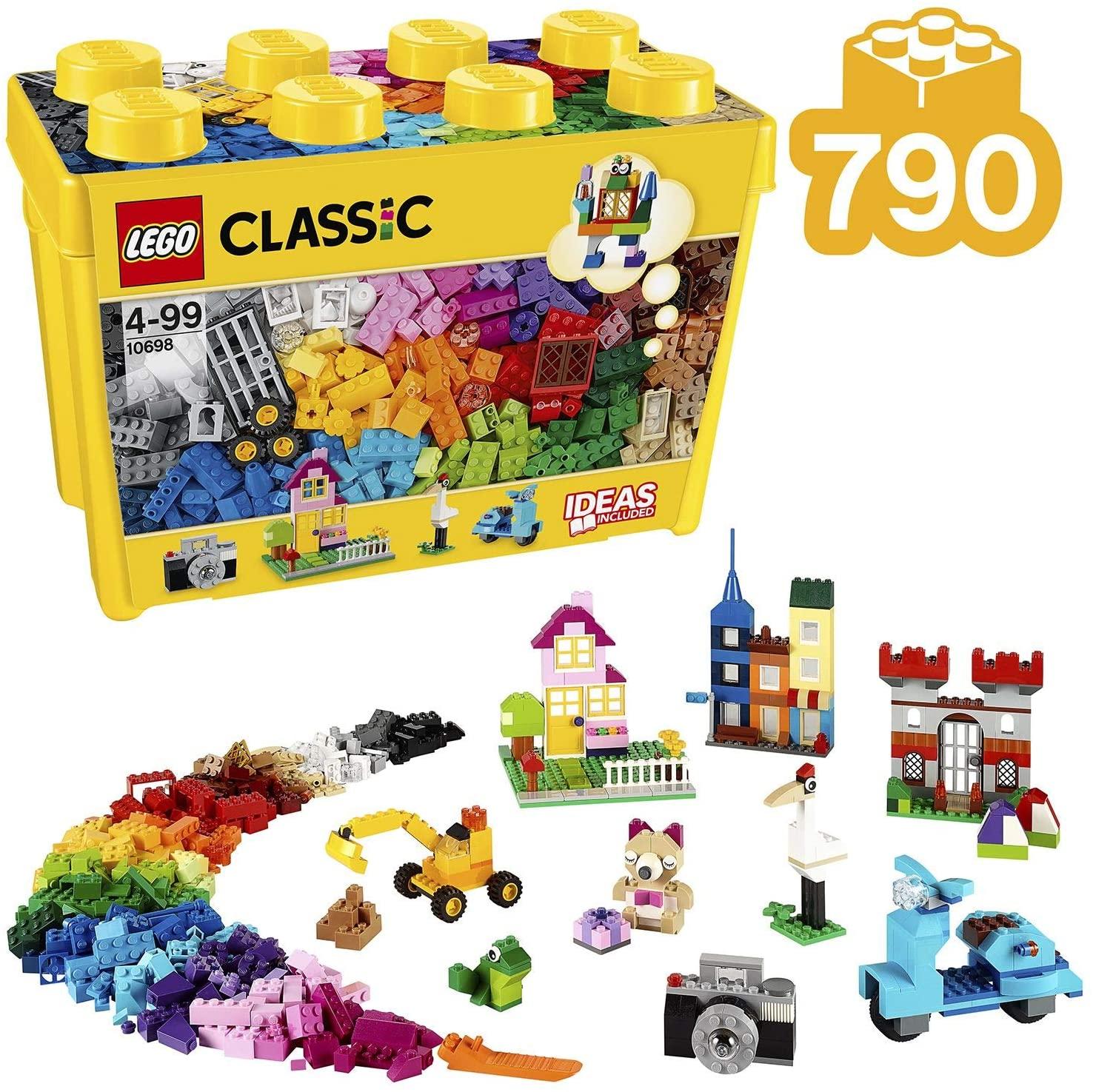 Mã Ưu Đãi Khi Mua Đồ Chơi LEGO Thùng Gạch Lớn Classic Sáng Tạo 10698