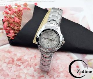 Đồng hồ nam nữ đeo tay thông minh Rosra bạc cực đẹp ZO49 thumbnail