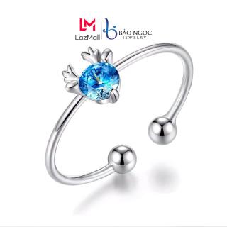 Nhẫn Nữ Bạc S925 Nhẫn Bạc Nữ Hình Hươu Thiết Kế Đơn Giản Tinh Tế Cho Nữ - N2622 - Bảo Ngọc Jewelry thumbnail