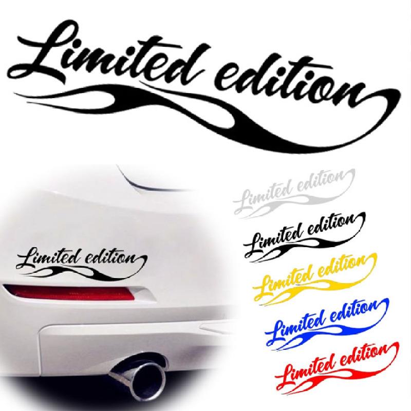 Tem decal Limited edition dán trang trí xe S066
