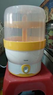 Máy tiệt trùng bình sữa, bình nước bằng điện Beurer BY76 của Đức bảo hành 02 năm thumbnail
