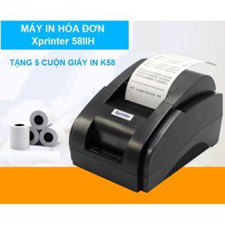 Máy In Hóa Đơn Xprinter 58IIH Khổ Giấy K58 chỉ dùng cho máy tính - Cổng USB - Tặng Kèm 5 Cuộn Giấy In K58 - TẶNG FREE PHẦN MỀM BÁN HÀNG 3 THÁNG ĐĂNG KÝ MỚI thumbnail