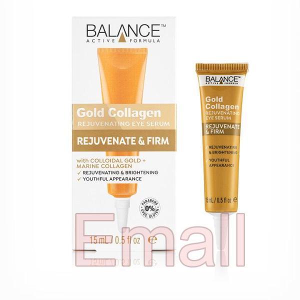 Kem Vàng Tri Thâm Mắt Balance Active Formula Gold Collagen Eye Serum 15ml