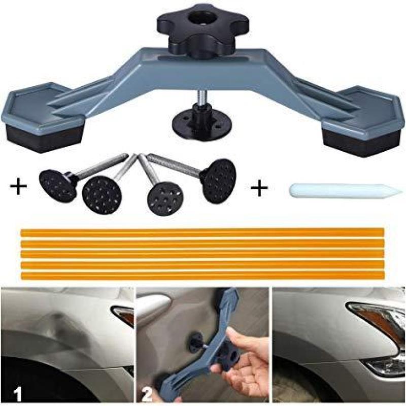 dụng cụ khắc phục vết móp xe ô tô , xe máy không cần sơn lại
