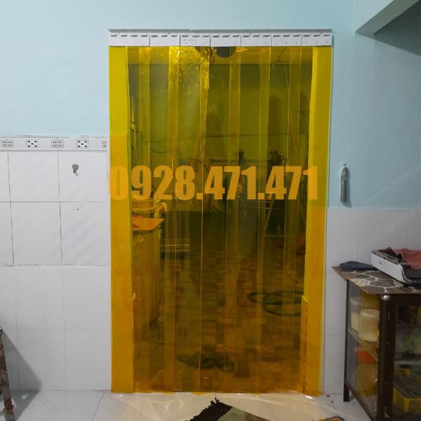 Rèm Nhựa PVC Ngăn Lạnh kích thước Rộng 0,65m x 1,8m