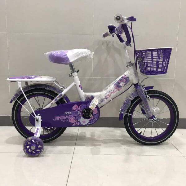 Mua Xe Đạp Trẻ Em Nữ siêu đáng yêu dành cho bé từ 3 đến 10 tuổi - Tặng kèm bơm xe tiện lợi.