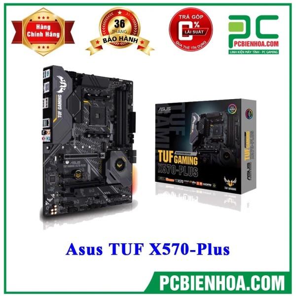 Bảng giá [Trả góp 0%]Mainboard Asus TUF GAMING X570 Plus ( AM4 / ATX / 4xDDR4 ) Phong Vũ