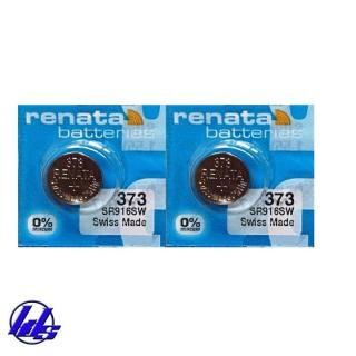 Combo 2 viên pin đồng hồ SR916SW 373 Renata Silver Oxide 1.55V - Vỉ 1 viên thumbnail