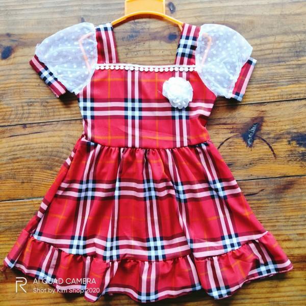 Giá bán (Hàng mới) Đầm công chúa 16-24kg   Đầm bé xòe bé gái 3-7 tuổi   KIM SHOP 2020