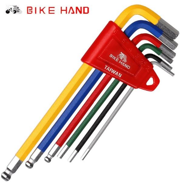 Bộ lục giác sửa xe đạp mini Bikehand YC-613-6C