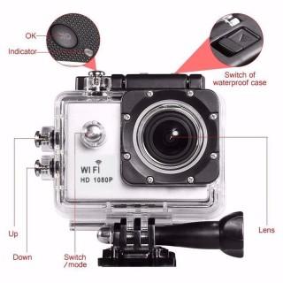 Camera Hành Trình Chống Rung 4k Ultra WIFI- Sắc nét, Chống nước- Chống Rung- Màn hình 2-inch LTPS LCD.- Góc quay 170 đỘ- -Ngôn ngữ hỗ trợ Tiếng Việt- Bảo Hành 1 Đổi 1 thumbnail