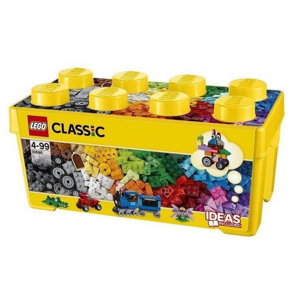 Lazada Giảm Giá Khi Mua Đồ Chơi LEGO Thùng Gạch Trung Classic Sáng Tạo 10696