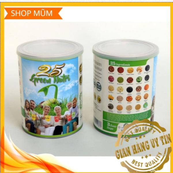 HSD 05/2022 * HÀNG HOT * Sữa bột 25 hạt hữu cơ Green Nutri - Nhập khẩu Singapore - Dành cho người Cao Tuổi - Hộp 750g