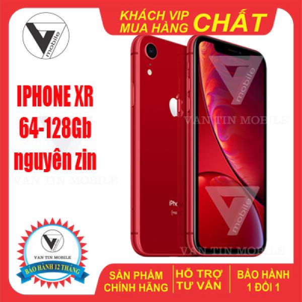 Điện thoại iphone XR 128Gb bản quốc tế mới 99%. BẢO HÀNH 12 THÁNG 1 ĐỔI 1,máy nguyên kháng nước,face id,tặng kèm full sạc pin-ốp lưng-dán kính cường lực