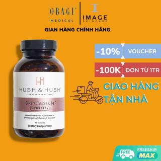 Hush & Hush SkinCapsule Hydrate+ Viên uống giữ ẩm cho da khô, mất nước 60 viên thumbnail