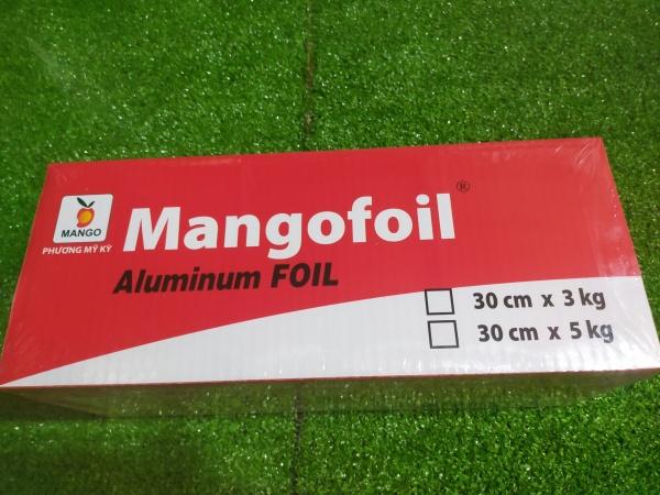 giấy bạc nướng đồ ăn 30x3kg
