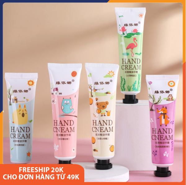 Kem dưỡng datay Hand Cream giúp dưỡng ẩm, dưỡng trắng giúp da bị khô mềm mịn, trắng sáng, chống nhắn tay chân, thơm, cải thiện cho làn da bị nứt nẻ, giúp cho da căng bóng, nội địa Trung giá rẻ 30g Melystore SPU166 nhập khẩu